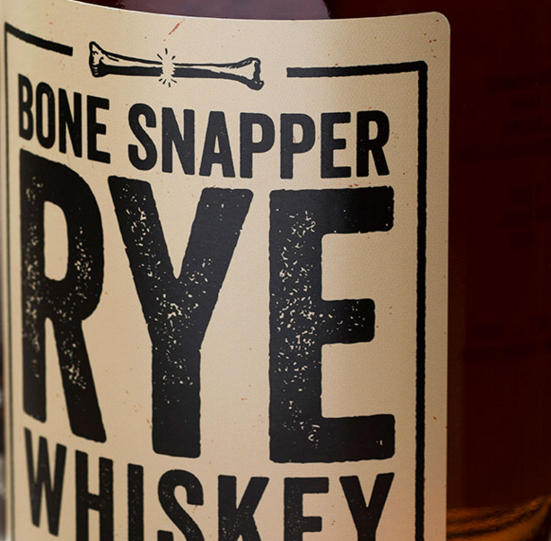 Bone Snapper Rye Whiskey - Rich, Bold and Spicy